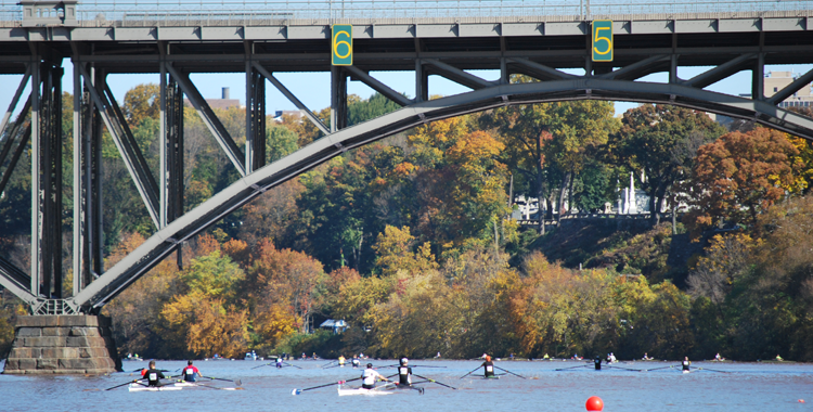 Fall Race Day on the Schuylkill